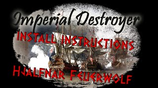 IMPERIAL DESTROYER - Empire: Total War Mod - install instructions [HD English]