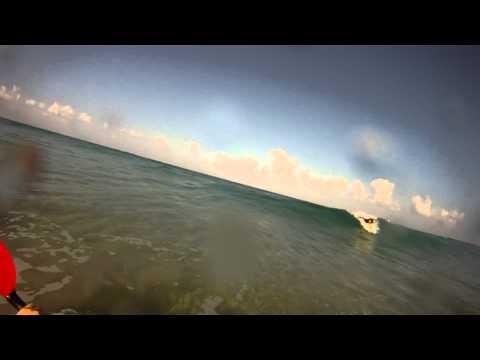 Kayak surf SummerTime 2012-NIRVANA BEACH