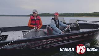 Ranger Aluminum Deep V VS1882DC On-Water Footage