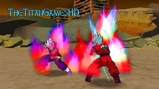 Dragon Ball Z Shin Budokai 2 Mods - Goku Ssj Blue Kaioken X10 - Black Goku Ssj Rose