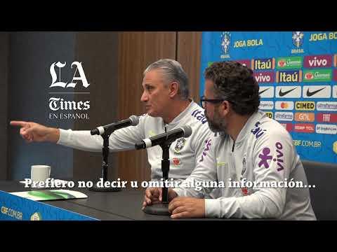Tite asegura no entender por qué tanta crítica a Neymar