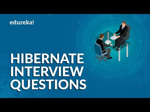 Top 50 Hibernate Interview Questions and Answers | Java Hibernate Interview Preparation | Edureka