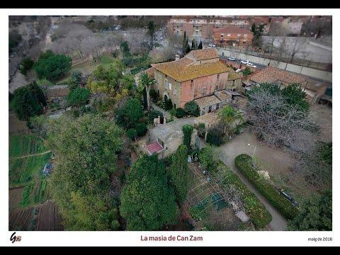 La masia de can zam la pagesia i la vinya a gramenet 1 for Piscina can zam