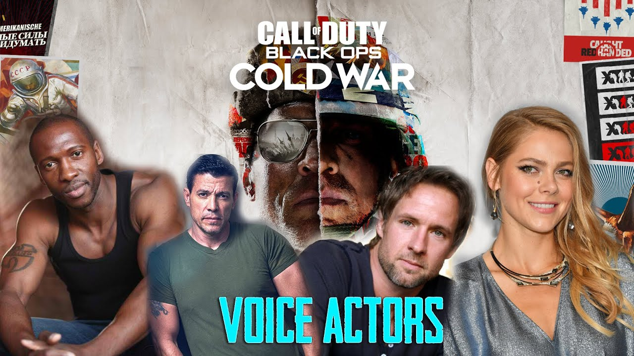 Call Of Duty Black Ops Cold War Voice Actor Character Details Youtube