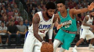 Clippers vs Grizzlies Full Game Highlights   NBA Feb 24, 2020   Los Angeles vs Memphis (NBA 2K)