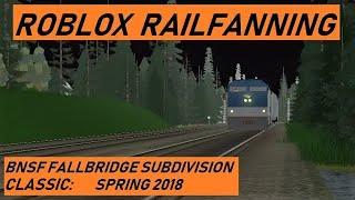 Trains of ROBLOX Episode 3: BNSF Fallbridge Subdivision - Spring 2018