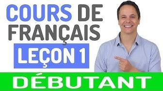Cours de Français Gratuit pour Débutants (1)