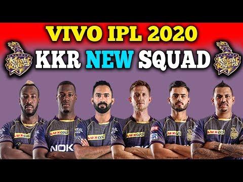 IPL 2020 Kolkata Knight Riders Team Squad | KKR Probable Team Squad For IPL 2020 | KKR New Team