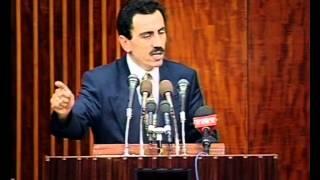 Muhsin Başkan Tansu Çiller'i fırçalıyor