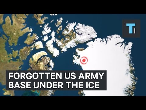 Forgotten US army base under the ice