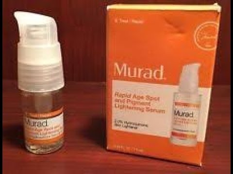 Review: Murad Rapid Age Spot and Pigment Lightening Serum