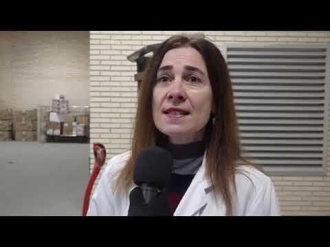 Llega material sanitario al Hospital Reina Sofía de Tudela