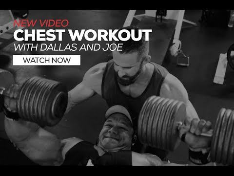 Dallas McCarver & Joe Bennett's Heavy Chest Workout