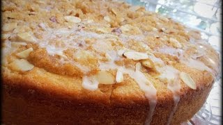 Streusel Orange Almond Cake