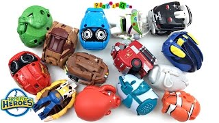 Hatch'n Heroes Toy Story Woody and Buzz The Cars Finding Dory Characters