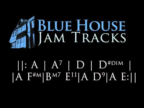 60's British Slow Blues [A] Jam Track