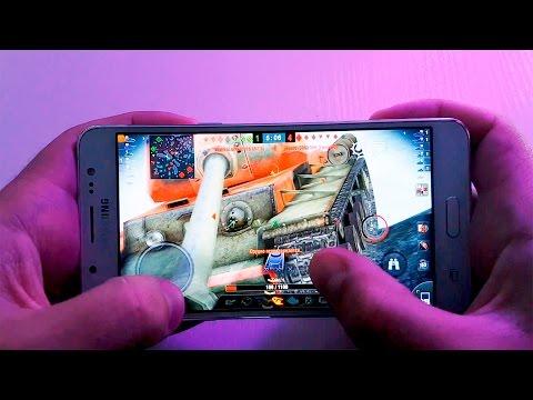 Тест Игр Samsung J5 2016 (SM-J510FN) | WOT Blitz | N.O.V.A 3 | NFS No Limits