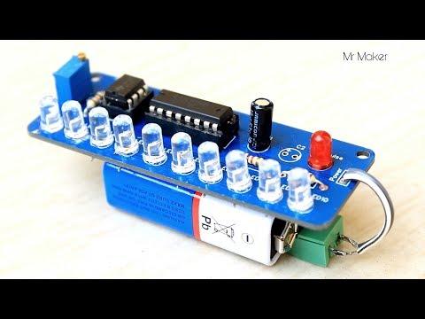Amazing Flowing LED light Project - PCB prototype