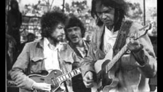 Neil Young and Bob Dylan - Helpless + Knockin