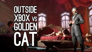 Outside Xbox vs The Golden Cat in Dishonored on Xbox One - Xbox One Gameplay