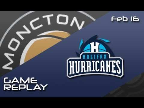 Moncton Magic vs. Halifax Hurricanes - Feb 16, 2018