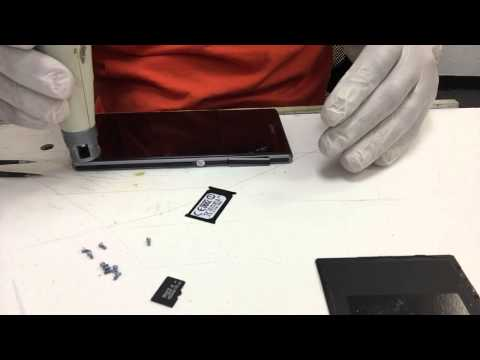 Sony Xperia Z1- Screen Replacement - Como Cambiar Pantalla