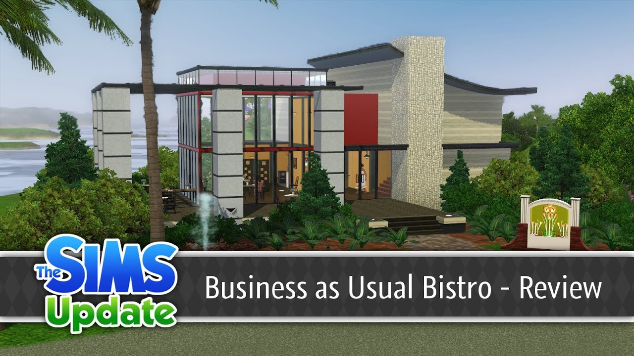 The sims 3 store: business as usual bistro (overview) youtube.