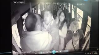 Agresión contra un joven en bus de Concepción