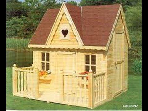 Como hacer una casa de madera para ni os youtube Construir una casa