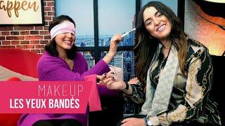 Makeup les yeux bandés by Rawaa Beauty & Nassima Raji - KITC #39