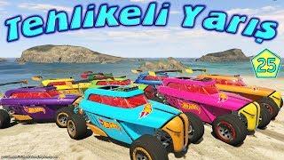Tehlikeli Yarış Hotwheels Arabalar ve Deniz Motoru 2. Sezon Yeni Bölüm