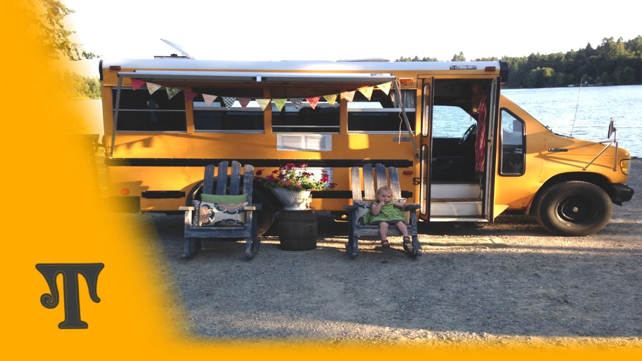 Tour Our DIY Converted School Bus RV