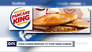 Burger King and Wendy's troll IHOb on social media after name change