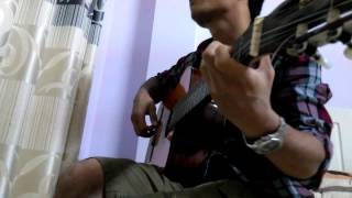 Right here waiting for you Guitar by Quang Huy