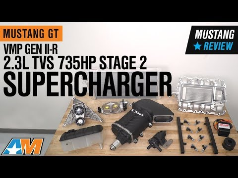 2015-2017 Mustang GT VMP GEN II-R 2.3L TVS 735 HP Stage 2 Supercharger Kit Review