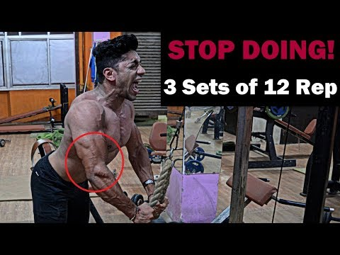 STOP DOING 3 Sets of 12 Rep | How many Sets and Reps to Build Muscle - Fat Lose Fast