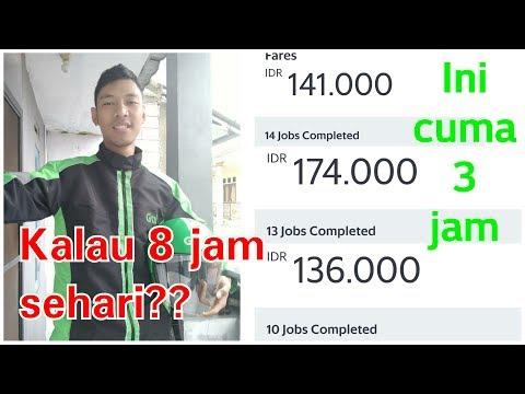 Pendapatan Jadi Driver GRABBIKE #Grab #grabbike #grabindonesia