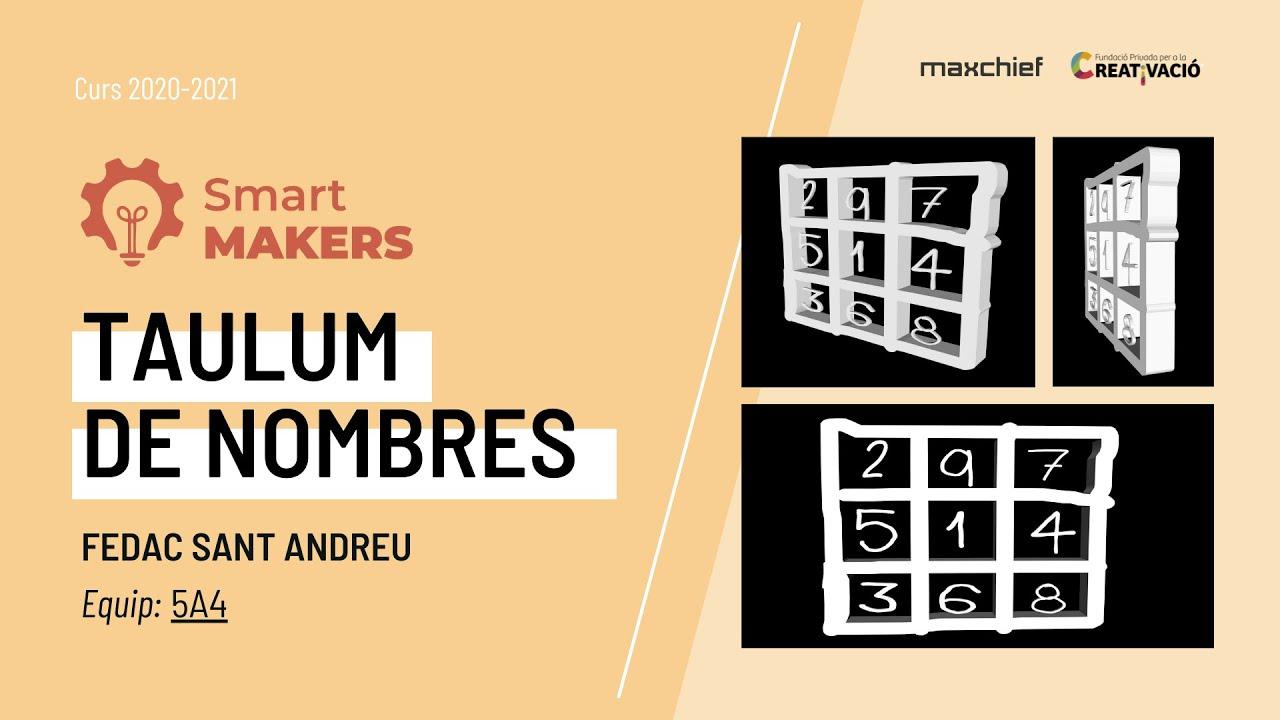 """""""Taulum de nombres"""" - FEDAC Sant Andreu"""