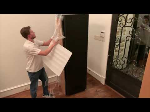 Unboxing Strong FS Series Rack SR-FS-SYSTEM-DC-42U Home Theater Equipment Rack