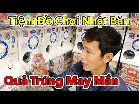 Lâm Vlog - Lần Đầu Chơi Trò Quả Trứng May Mắn Tại Tiệm Đồ Chơi Nhật Bản và Cái Kết