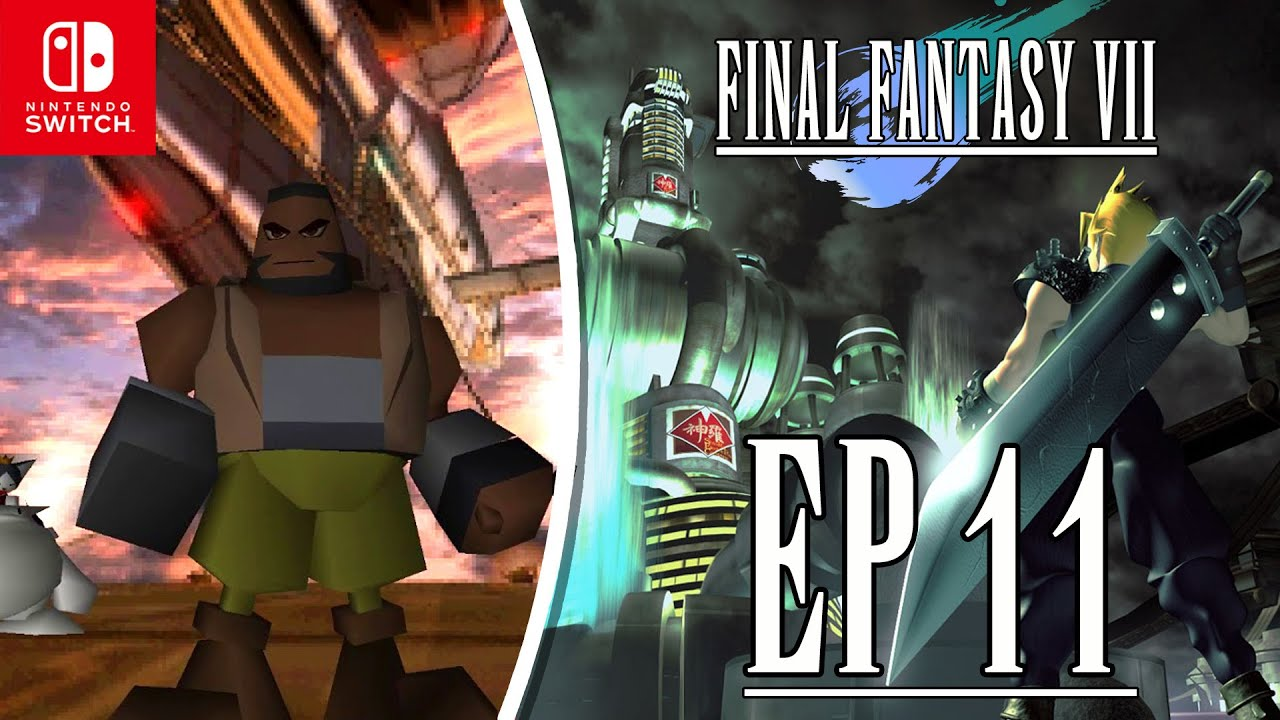 Stealing the Highwind Back from Shinra!   Let's Play Final Fantasy 7 Original EP11