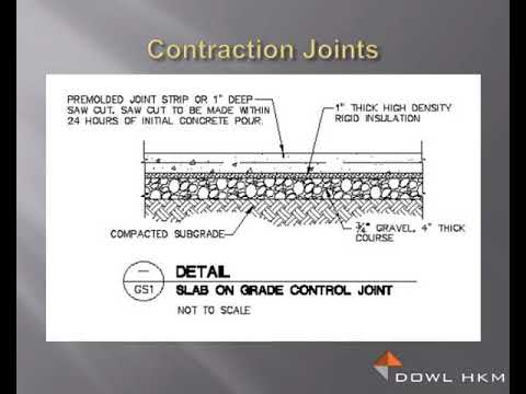 Joints In Concrete Construction Youtube
