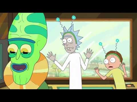 Inside The Batteries Battery - Rick And Morty