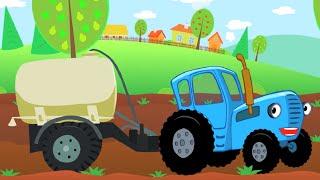 Песенка для детей - ОВОЩИ - Синий Трактор - Развивающие мультики для малышей(Что нужно делать, чтобы быть здоровым и красивым? Правильно - кушать больше полезных овощей! Синий трактор..., 2016-08-25T08:10:44.000Z)