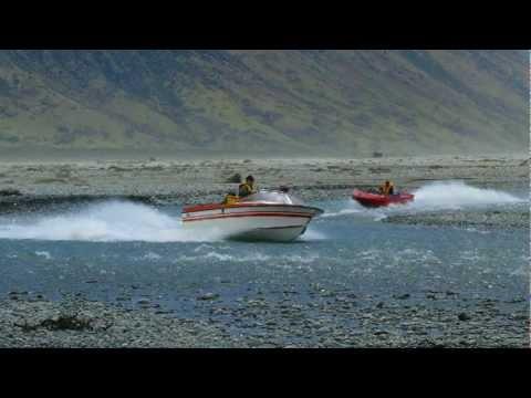 Jetboat club run , Upper Rangitata november 2011