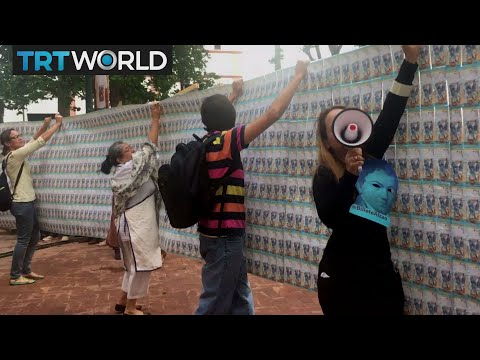 Venezuela On The Edge: Artists in Venezuela use talents for protest