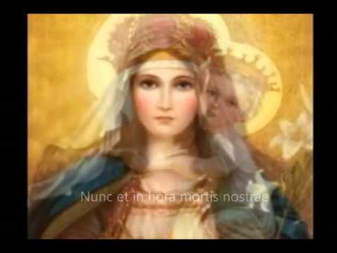 Ave Maria Gratia Plena (Latin Version) by 33AD Family Choir