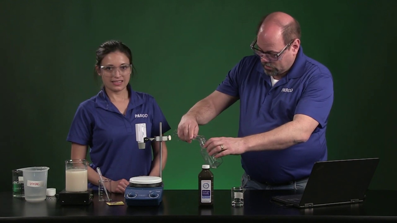 Enzyme Activity Distance Learning Lab Youtube