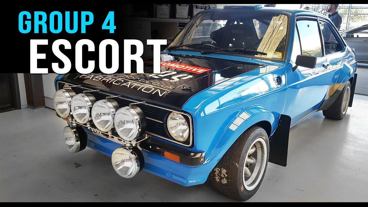 Ford Escort Mk2 Grp 4 Rally Car: What's In A Ford Escort RS Group 4 Rally Car?