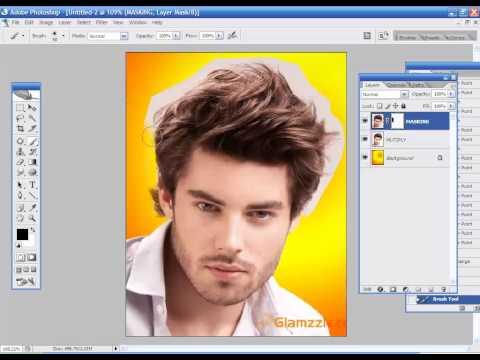 photoshop tutorial hair cut methods in tamil - Training full free video template DVD